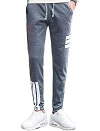 (コズーン)KO ZOON B33 ジョガーパンツ ラインパンツ スウェットパンツ メンズ スキニー スリム スエット ズボン ジャージ 3本ライン ボトムス