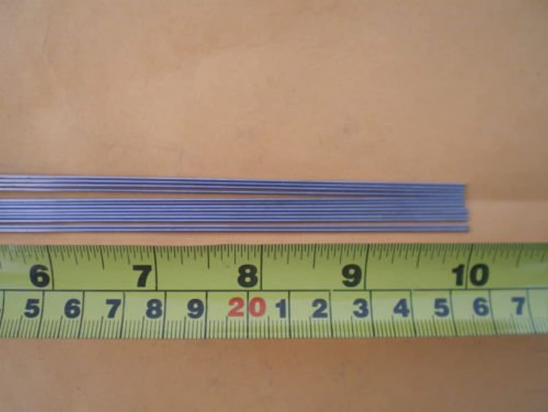 ドールびんガラスGlob 25ステンレススチールストレートLureシャフトWireフォーム0.051 X 10 Inch Long