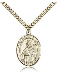 Saint Malachy O 'more Medals – ゴールドメッキセント聖マラキO 'moreペンダントIncluding 24インチネックレス