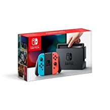 Nintendo HAC-S-KBAAA Nintendo Switch with Neon Joycon (ASI)