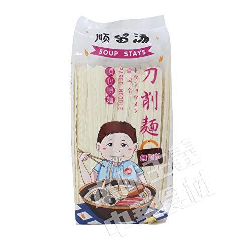 順留湯刀削麺500g中華ラーメン 刀削面 弾性 本場の味 中華食材 中華食品 中華麺 中華そば輸入食品 輸入食材