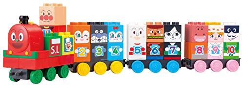 BlockLabo ブロックラボ アンパンマン SLマンと1 2 3!すうじブロックセット