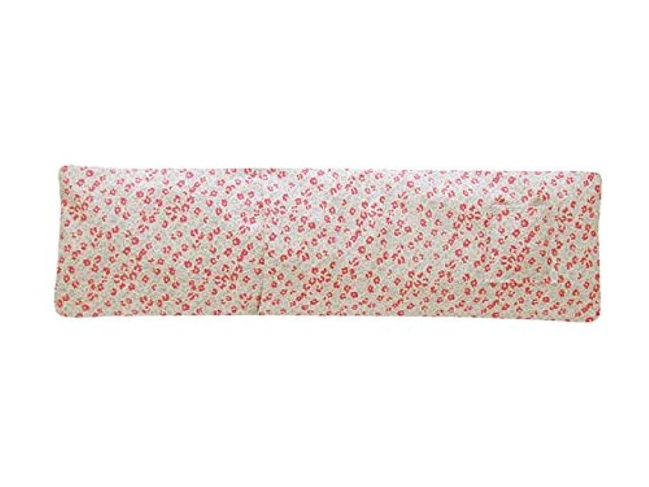 筋リボン露骨なホット&アイスショルダーピロー ラベンダーの香り(小花柄) JA-04LAKOB