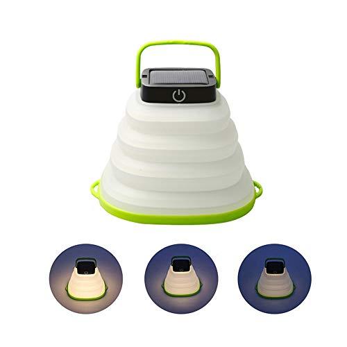 ソーラーランタン ソーラーライト 折り畳み式 EREMOKI 懐中電灯 暖白光 携帯型 USB充電 テントライト IP67防水仕様 高輝度 LEDライト 防災対策 登山 夜釣り ハイキング アウトドア キャンプ用