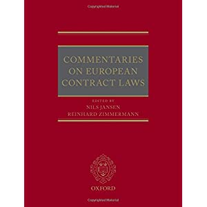 Commentaries on European Contract Laws