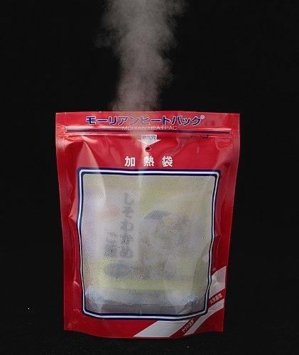 モーリアンヒートパック Lサイズ発熱剤×3個+加熱袋(L)1枚入り【防災グッズ】非常食にも!
