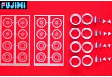 ディティールアップシリーズ Dup-12 1/24メタル ワイヤーホイル boranni