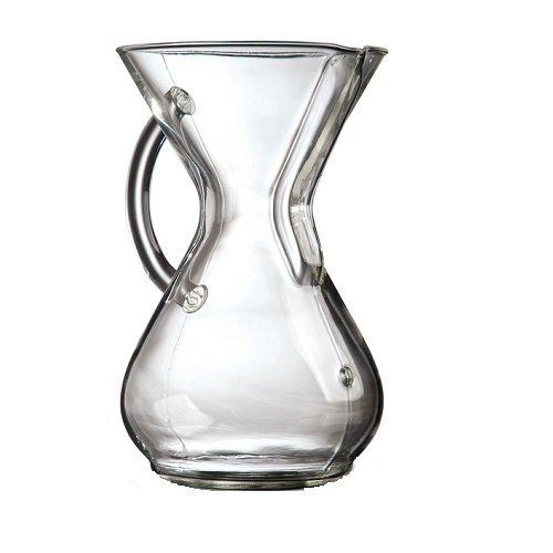 CHEMEX(ケメックス) ガラスハンドル コーヒーメーカー 6カップ(並行輸入品)