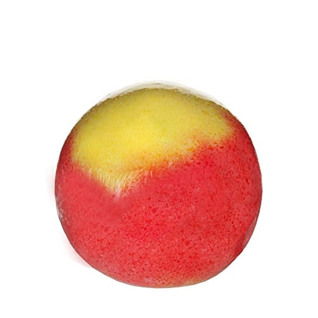 スペードより平らなTreetsバスボールカラーパーティー170グラム - Treets Bath Ball Colour Party 170g (Treets) [並行輸入品]
