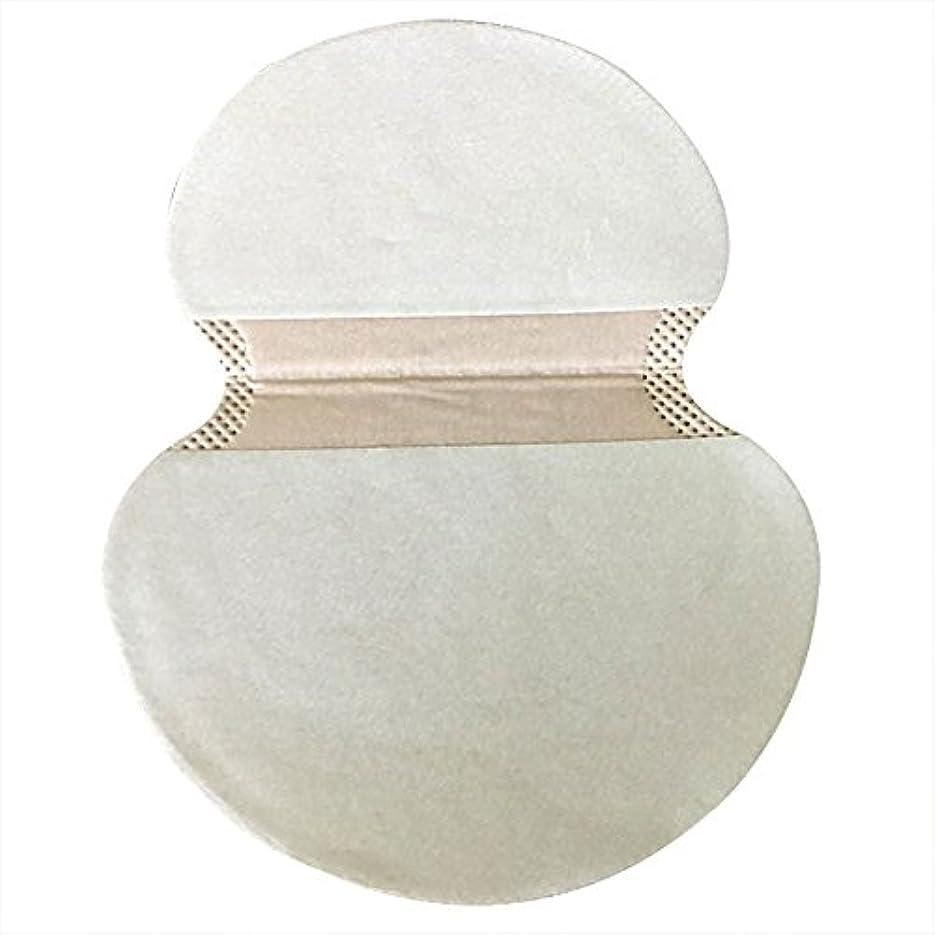 ドリンク泥だらけ人類kiirou 汗取りパッド わき汗パット 10枚セット さらさら あせジミ防止 防臭シート 無香料 メンズ レディース 大きめ
