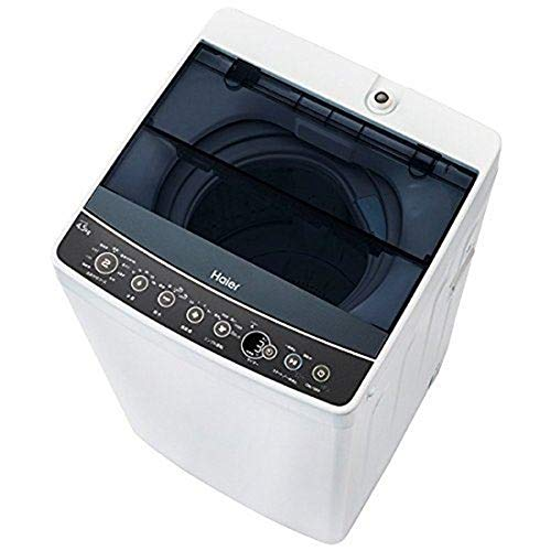 ハイアール 4.5kg 全自動洗濯機 ブラックHaier J...