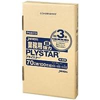 ジャパックス 業務用ポリ袋 70L PSB73 0.032mm 100枚×4箱