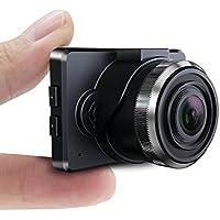 Conbrov 超小型ダッシュカメラ フルHD車載カメラ 1080P高画質ドラレコ ミニドライブレコーダー 1.5インチ液晶モニター付き Gセンサー 夜間暗視撮影 日本語取扱書付き 初心者向け