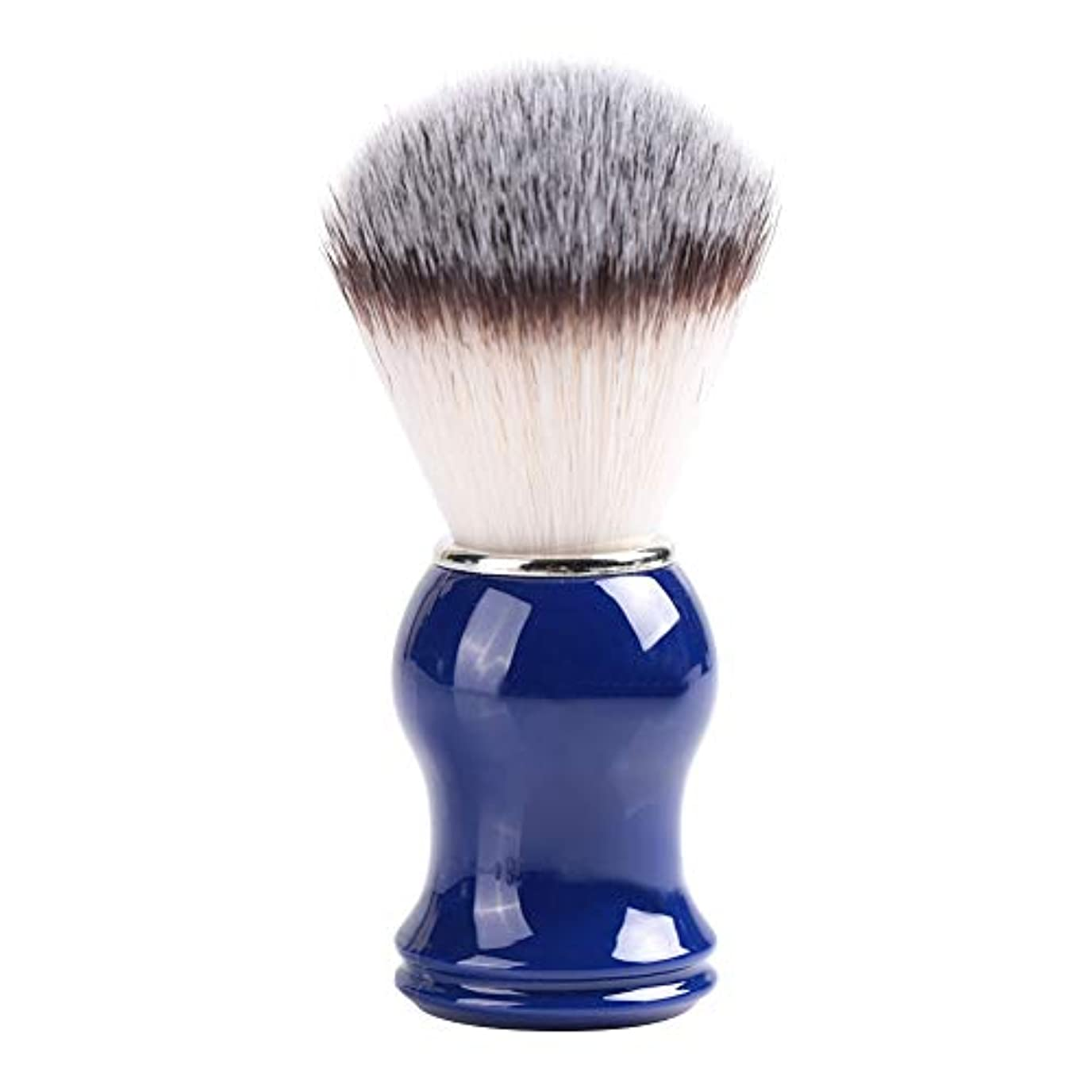思いやりのある美しい糞Nitrip シェービングブラシ ひげブラシ ひげケア 理容 洗顔 髭剃り 泡立ち 男性用 2色(剛毛+青)