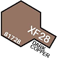 XF28 MIN Dark Copper- 10ml jar of Tamiya Color Mini Acrylic Paint