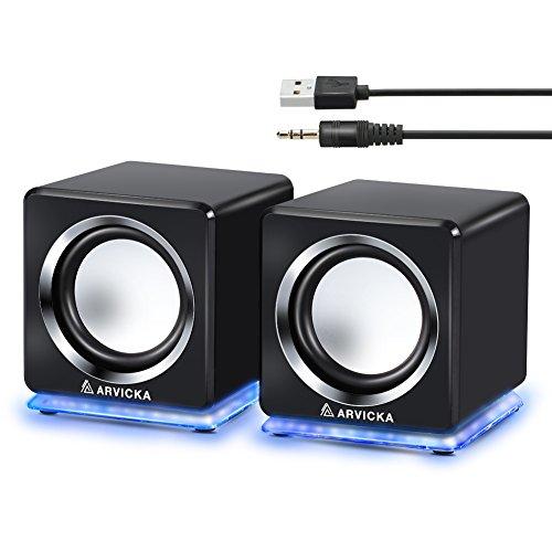 【ARVICKA】pcスピーカー USBスピーカー6W 大音量...
