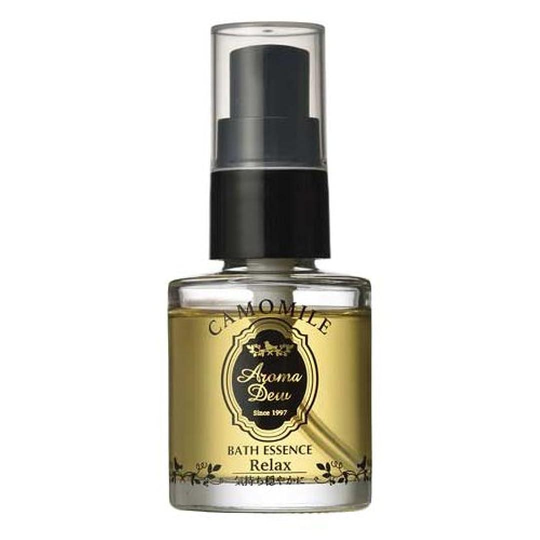 半導体ティッシュスポーツマンアロマデュウ 香りのバスエッセンス カモミールの香り 27ml