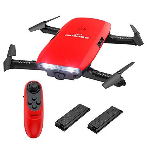 GoolRC T47 ドローン 720P Wifi FPV カメラ付き 折り畳み式 ポケットラジコン マルチコプター RC クアッドコプター 玩具 プレゼント2 *バッテリー
