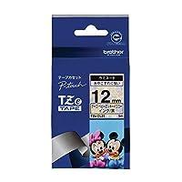 ブラザー ピータッチテープ ディズニーテープ ベビーミッキーイエロー/黒字 12mm TZE-DL31 【まとめ買い3個セット】