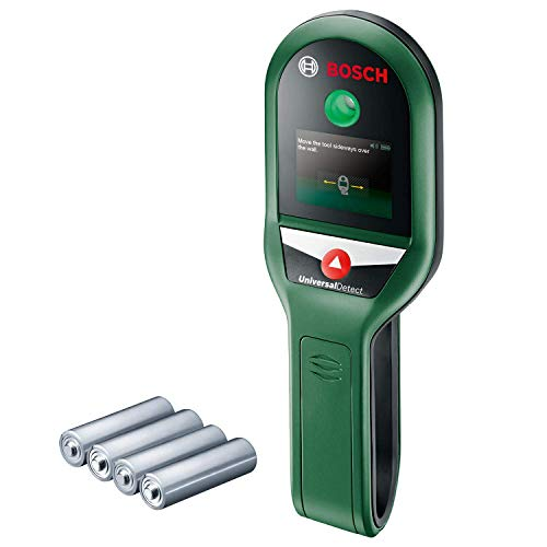Bosch Digital Detector UniversalDetect (Protective Case, 4 x AAA Batteries Included, in Box)
