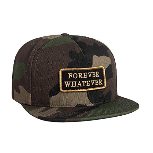 (ハフ) HUF FOREVER SNAPBACK フォーエバー 5パネル 帽子 スケボー SK8 【huf272】 ワンサイズ woodland-camo [並行輸入品]