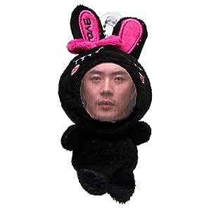 ラブプリティフェイスぐるみ 韓国スター クォン・サンウ(Kwon Sang Woo) ブラック