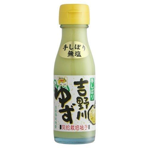 吉野川ゆず 100ml×6本 さめうらフーズ 無塩 土佐れいほく産の柚子を手しぼりした100%ユズ果汁 原液そのままの贅沢な香り 魚料理やお酒の割り材に