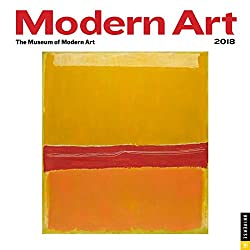 Modern Art 2018 Mini Wall Calendar