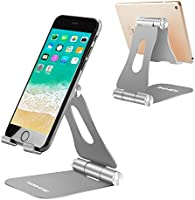 Cell Phone Stand, Yoshine iPhone Stand Adjustable Mobile Phone Stand Tablet Stand Portable Foldable Cell Phone Holder...
