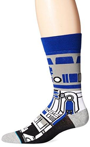 (スタンス) STANCE SOCKS 【STANCE SOCKS】x【STAR WARS】【DROID】 BLUE ソックス 靴下 コラボ L(27cm〜30cm)