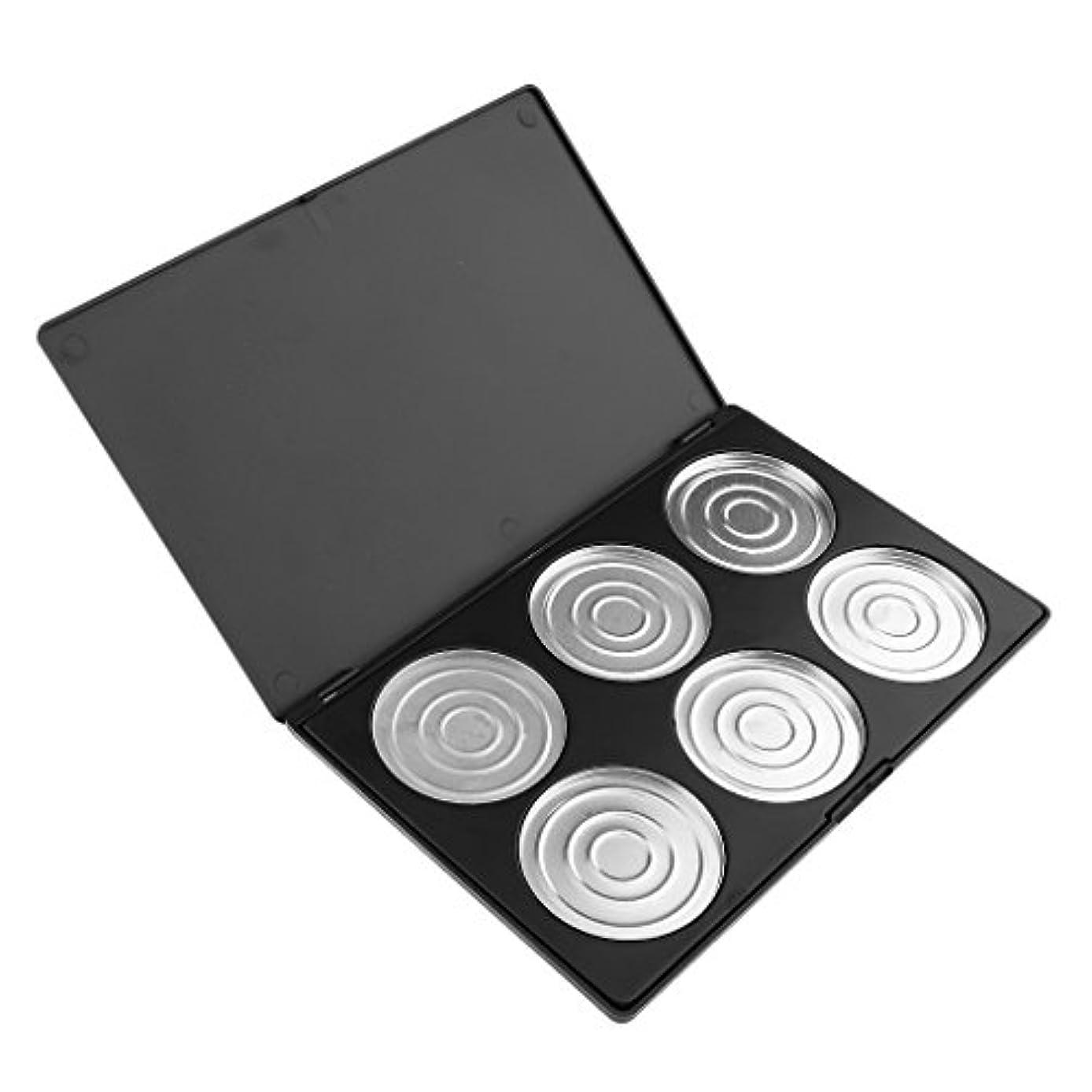 順応性欠点将来の12グリッド メイク 空 アイシャドーブラッシャー リップグロス パレット 化粧品 全2種類 - 6色収納ケース