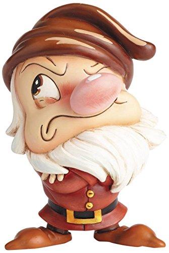 ディズニー ミス・ミンディ シリーズ 白雪姫 スノーホワイト グランピー おこりんぼ スタチュー