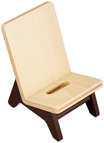 ヤマト工芸 携帯スタンド 「chair holder」 ブラウン YK11-106