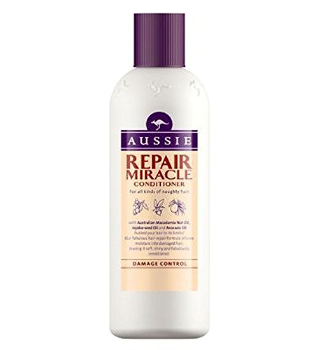 上がる橋再生Aussie Conditioner Repair Miracle for All Kinds of Naughty Hair 400ml - いたずらヘア400ミリリットルのすべての種類のオージーエアコンの修理の奇跡 (Aussie) [並行輸入品]
