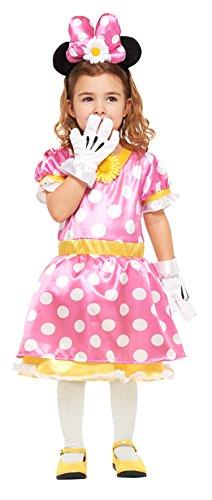 849b375a6ae97 ディズニー ミニーマウス キッズコスチューム 女の子 対応身長120cm-140cm
