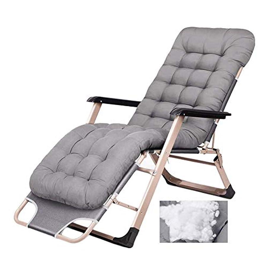 請求可能最大のマウスピース頑丈な人々のための折り畳み式の庭のリクライニングチェアのリクライニングチェア - 屋外または屋内のための調節可能な丈夫な鉄骨フレームそして古典的なクッションの携帯用椅子、サポート200kg,A