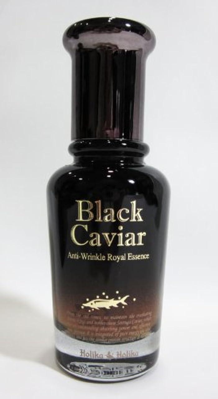 今後公爵夫人酸度【在庫処分◆大特価】Holika Holika ホリカホリカ ブラックキャビア アンチリンクル ロイヤルエッセンス Black Caviar Anti-Wrinkle Royal Essence