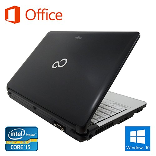【Microsoft Office 2016搭載】【Win 10搭載】富士通 S761/D/第二世代Core i5 2.5GHz/メモリー4GB/HDD:250GB/DVDスーパーマルチ無料搭載/13インチ/無線LAN搭載/中古ノートパソコン (ハードディスク:250GB)