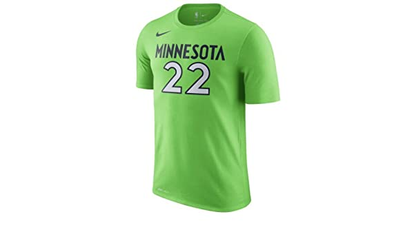 9e5e20034 Amazon | ナイキ メンズ Tシャツ Andrew Wiggins Minnesota Timberwolves Nike Name  Statement Performance T-Shirt Green_XL [並行輸入品] | シャツ 通販