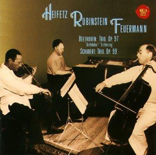 ベートーヴェン:大公トリオ / シューベルト:ピアノ三重奏曲第1番
