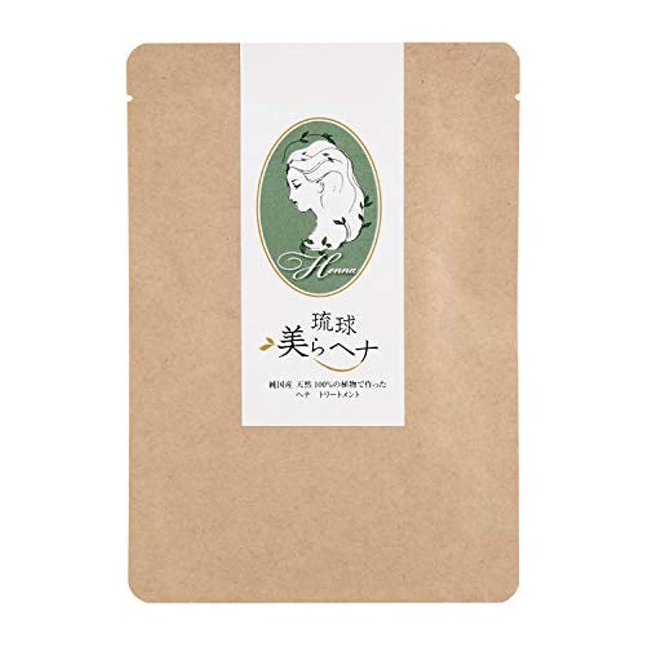 襲撃活性化する計器純国産 ヘナ 白髪染め 天然 100% 琉球 美ら (ちゅら) ヘナ 100g