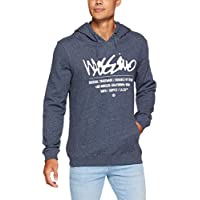 Mossimo Men's Attitude Pullover Hoodie, Midnight Ink Marle