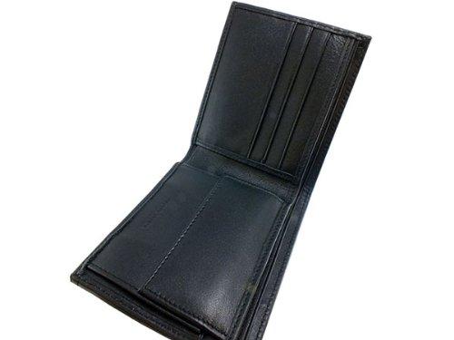 (ロダニア) RODANIA スティングレイ 高級エイ革 短財布 SH0214BK