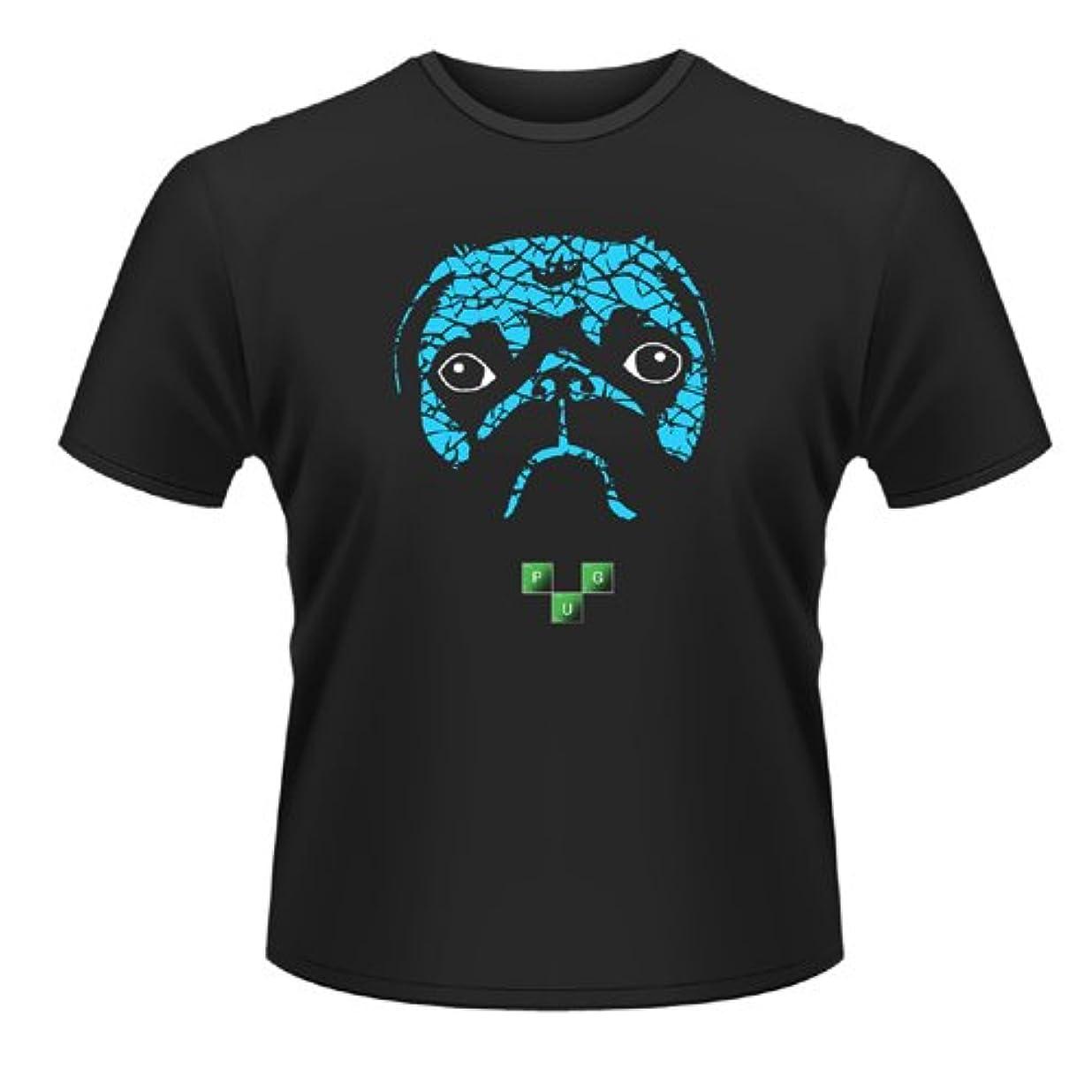 決定する変な公園Plan 9 Pug Meth (Breaking Bad) 公式 メンズ 新しい ブラック T Shirt