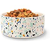 Now House by Jonathan Adler Terrazzo Ceramic Dog Bowl, Large