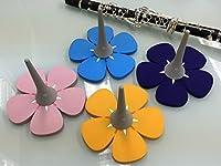 Roi Silicon Flower Stand(シリコンフラワースタンド)【クラリネット用】 (パープル)