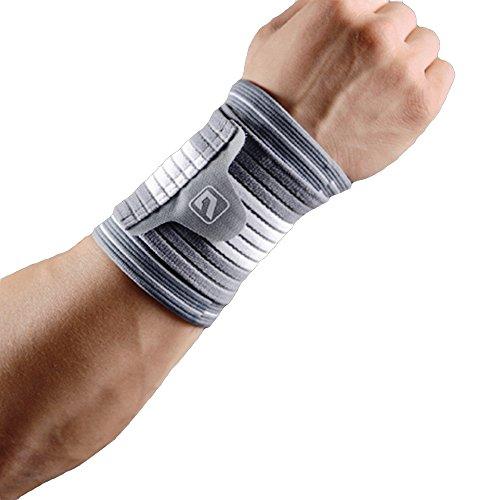 手首サポーター LiveupSports 手首サポート 手首固定 伸縮性 保温性 通気性 滑り止め 怪我防止 関節 靭帯 保護 鍛錬 アウトドア スポーツケア 左右兼用 単品