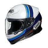 ショウエイ(SHOEI) バイクヘルメット フルフェイス Z-7 PHILOSOPHER (フィロソファー)TC-2 (BLUE/WHITE) XL (頭囲 61~62cm) -
