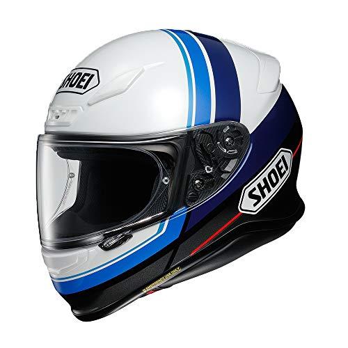 ショウエイ(SHOEI) バイクヘルメット フルフェイス Z-7 PHILOSOPHER (フィロソファー)TC-2 (BLUE/WHITE) M (頭囲 57~58cm) -