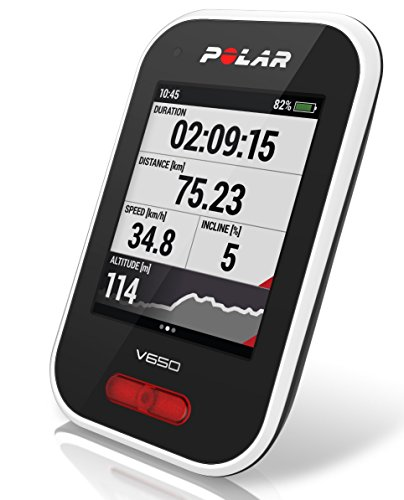 POLAR(ポラール) V650 (GPS内蔵サイクルコンピュータ)【日本語対応/日本正規品】 90050531